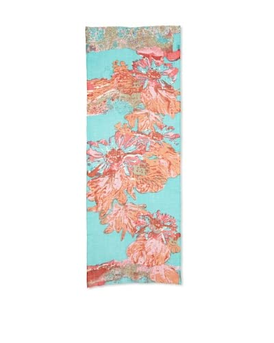 Saachi Women's Abstract Flower Printed Scarf