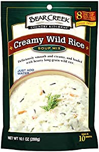 Bear Creek Country Kitchens Creamy Wild Rice Soup Mix, 10.1- Ounce Bags (Pack of 6)