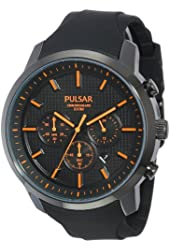 Seiko Men's PT3207 Pulsar Chronograph Watch