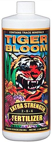 Foxfarm Fx14019 1-Quart Foxfarm Tiger Bloom Extra Strength 2-8-4 Fertilizer 2Lbs