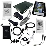 DigitalsOnDemand 14-Item Accessory Bundle for Amazon Kindle DX 9.7