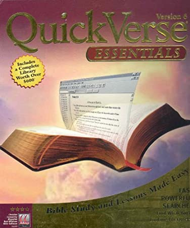 QuickVerse Essentials: Version 6