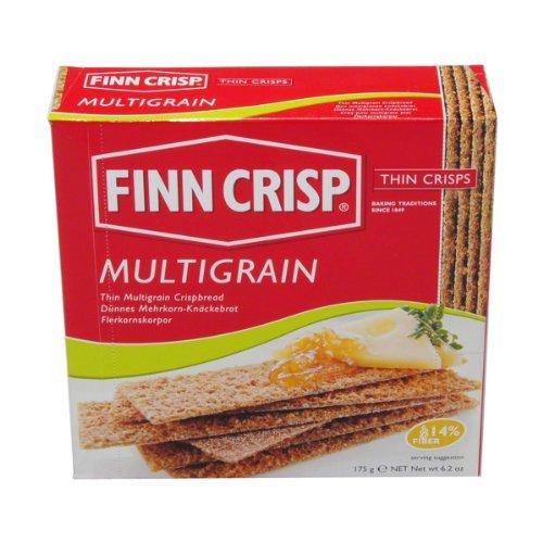 German Finn Crisp Thin Multigrain Crispbread - 1 x 175 g
