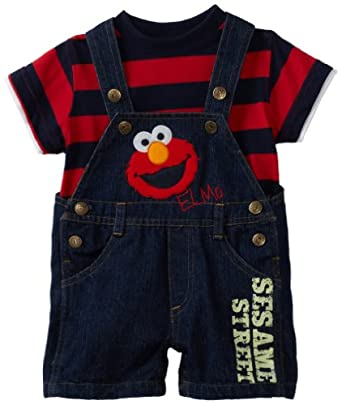 Amazon Sesame Street Baby Boys Infant Elmo Denim