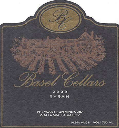 2009 Basel Cellars Walla Walla Valley Estate Syrah 750 Ml