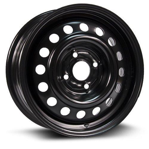 Steel Rim 14X5.5, 4X100, 57.1, +40, black finish (MULTI APPLICATION FITMENT) X99100N (Miata Rims compare prices)