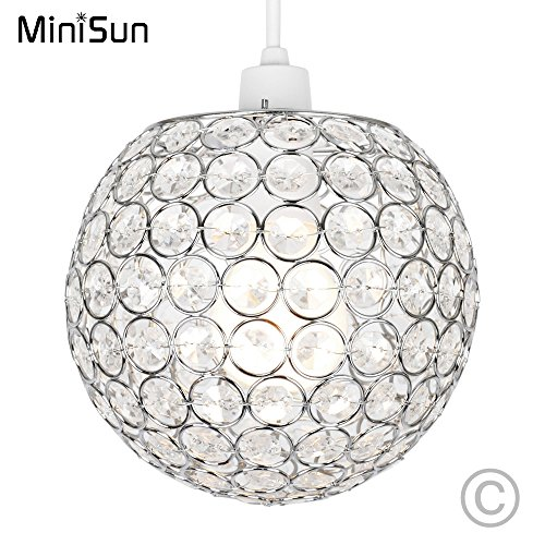 modern-chrome-globe-ceiling-light-shade-with-acrylic-crystal-effect-jewels