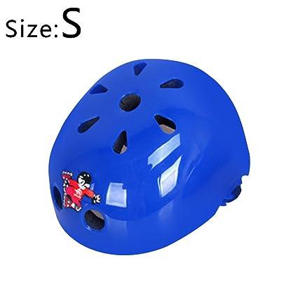 topfire Cool pour enfant KIDDIMOTO et micro casque de sécurité 48-52cm bleu