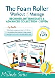 5151 NgwgoL. SL160  Disk 1 of 2   The Foam Roller, Workout & Massage   BEGINNER, INTERMEDIATE, ADVANCED Collection 2 DVDs Review