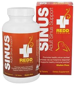 Redd Remedies Adult Seasonal Sinus Support 100 Tabs