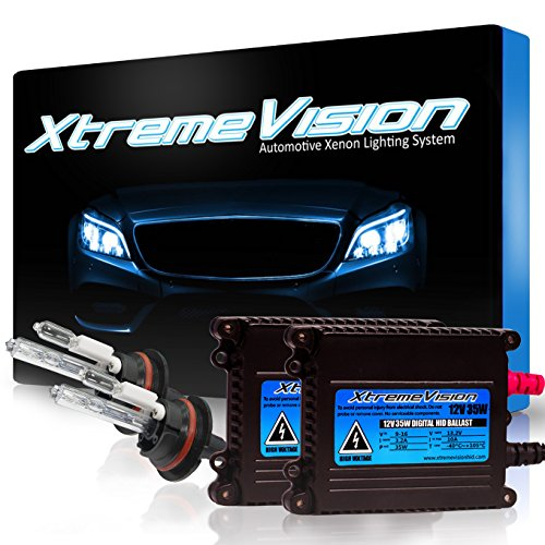 XtremeVision 35W HID Xenon Conversion Kit with Premium Slim Ballast - 9007 8000K - Medium Blue - 2 Year Warranty (Hid Kit Altima 2000 compare prices)