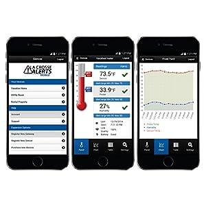 La Crosse Alerts Mobile 926-25101-GP Wireless Monitor System Set with Dry Probe by La Crosse Technology