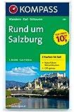 Rund um Salzburg: Wanderkarten-Set mit Radrouten, Skitouren und Naturführer. GPS-genau. 1:50000 (KOMPASS-Wanderkarten)