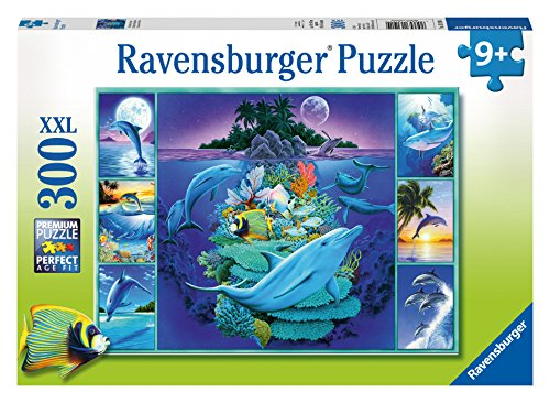 Ravensburger Dolphin Collage Puzzle (300 Piece)