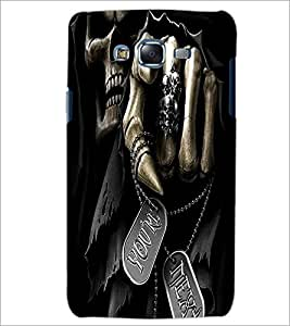 PrintDhaba You Are Next D-1466 Back Case Cover for SAMSUNG GALAXY ON 5 (Multi-Coloured)