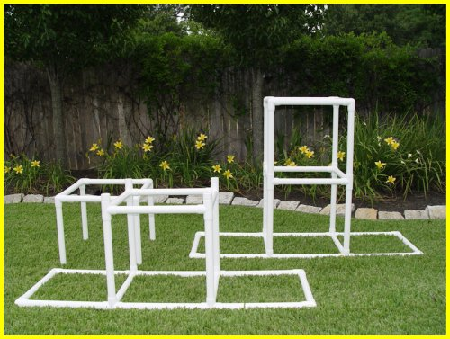"The Dog Walk Bases - Adjustable 24"" & 48"" -Dog Agility Equipment is"