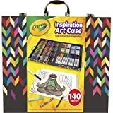 Crayola Imagination Inspiration Art Case 140Piece, Art Set, Gifts for Kids, Age 4, 5, 6, 7 (Color: Mulitcolored, Tamaño: n.a.)