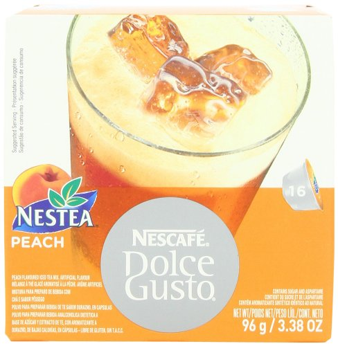 Nescaf Dolce Gusto for Nescaf Dolce Gusto Brewers, Nestea Peach, 16 Count (Pack of 3) at Sears.com