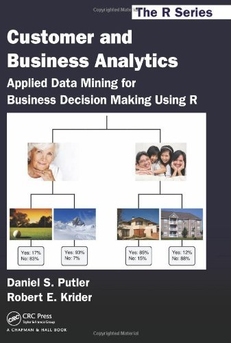 , by Daniel S. Putler Customer and Business Analytics: Applied Data Mining for Business Decision Making Using R (Chapman &From Chapman and