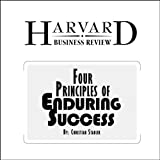 img - for Four Principles of Enduring Success (Harvard Business Review) book / textbook / text book