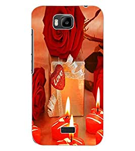 ColourCraft Love Environment Design Back Case Cover for HUAWEI HONOR BEE