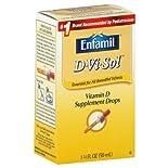 Enfamil D-Vi-Sol Vitamin D Supplement Drops, 1.67 fl oz (50 ml)