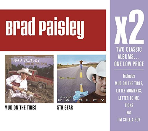 X2: Mud on the Tires / 5th Gear by Brad Paisley (2012-08-06) (Brad Paisley 5th Gear compare prices)