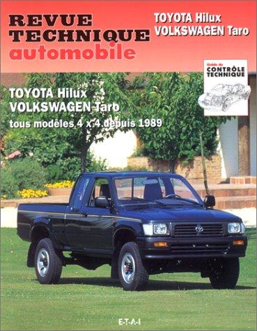 revue technique automobile cip 575 1 toyota hilux volkswagen taro 4x4 depuis 1989 etai. Black Bedroom Furniture Sets. Home Design Ideas
