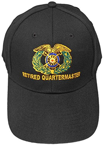 1f8af86ec3dce U.S. Army Division and Brigade Baseball Caps Quality Embroidered Hats  (Retired Quartermaster Corp)