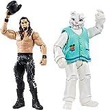 WWE ADAM ROSE & THE CONEJITO NXT WWF BATTLE PACK MATTEL SERIE 38 LUCHA LIBRE FIGURA