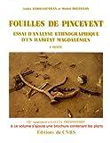 echange, troc Brezillon - Fouilles de Pincevent, 2 volumes, 1983 : Essai d'analyse ethnographique d'un habitat magdalénien
