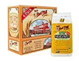 Bob's Red Mill Organic High Fiber Pancake & Waffle, Whole Grain Mix, 26-Ounce Bags (Pack of 4)