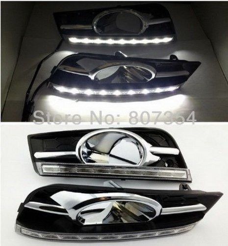 2X LED Daytime Running Light DRL Daylight Fog Lamps For BMW X6 E71 2009-2012