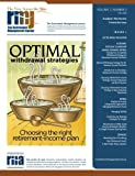 img - for The Retirement Management Journal: Vol. 2, No. 3, Academic Peer Review Committee Issue (Volume 2) book / textbook / text book