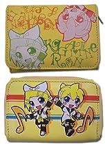 Hatsune Miku Rin And Len Wallet Yellow GE3003
