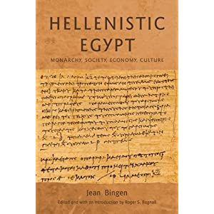 Amazon.com: Hellenistic Egypt: Monarchy, Society, Economy, Culture ...