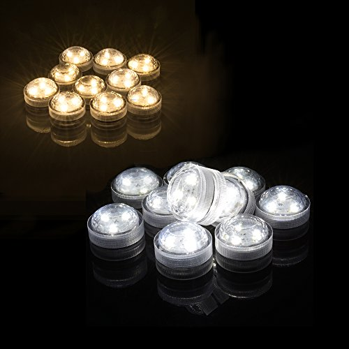 AGPtek-10PCS-Warm-WhiteWhite-Submersible-Round-LED-Candle-High-Brightness-Tea-Vase-Battery-Light-Outdoor-Garden-Pond-Pool-Bath-Disco-Bar-Spa-Tub-Decoration-Wedding-Xmas-Floral-Decoration-Candles
