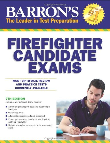 Pdf Online Barron S Firefighter Candidate Exams 7th Edition