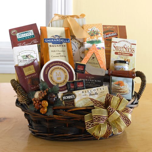 Deluxe Large Gourmet Food and Snacks Gift Basket – For the Whole Crowd! | Great Gourmet Gift Basket for Any Occasion