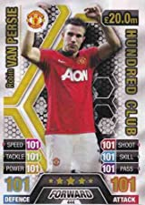 Match Attax 2013/2014 Robin Van Persie Hundred 100 Club Manchester United 13/14