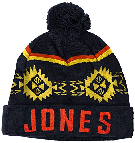 Jack & Jones JJFIGURE BEANIE-Cappellopello Uomo    Blu (Navy Blazer) Taglia unica