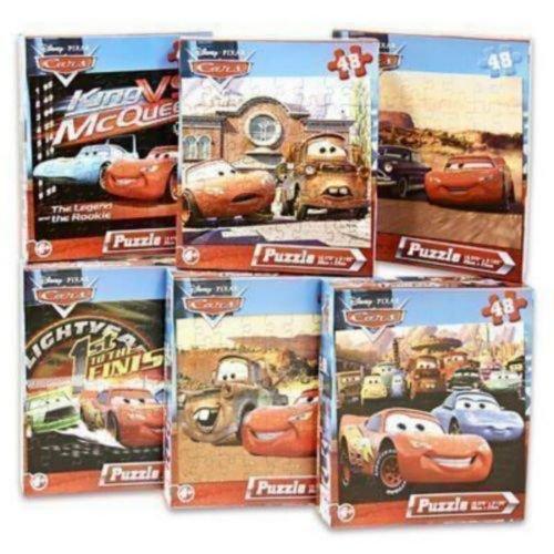 Cheap Fun Disney Pixar Cars 48-Piece Jigsaw Puzzle (Assorted designs) (B00395G656)