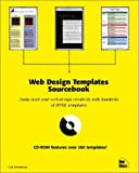 img - for Web Design Templates Sourcebook book / textbook / text book