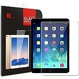 1byone 日本製高品質の強化ガラスを採用 硬度9H 超薄0.33mm iPad Air/iPad Air2用透明強化ガラス 保護フィルム