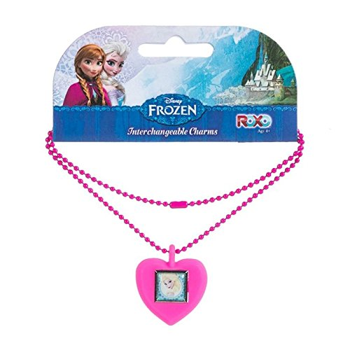 Disney Frozen Elsa Interchangeable Kid's Charm Necklace