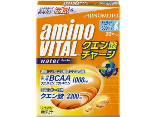 アミノバイタルクエン酸チャージW 箱 10g×20