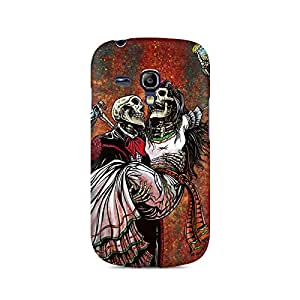 Mobicture Skull Abstract Premium Printed Case For Samsung S3 Mini 8190