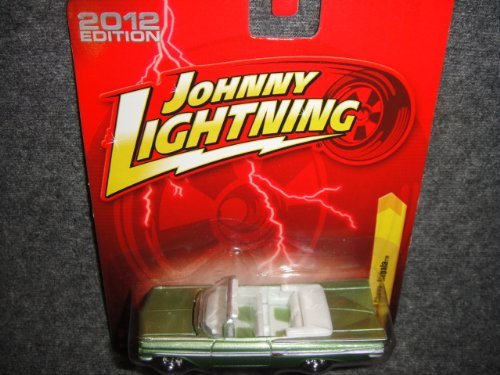 JOHNNY LIGHTNING R21 GREEN 1959 CHEVY IMPALA 2012 EDITION DIE-CAST - 1