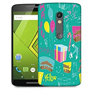 Snoogg Birthday Gift Designer Protective Phone Back Case Cover For Motorola Moto X Play