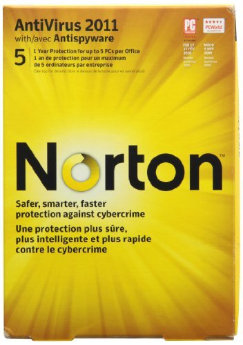 Norton Antivirus 2011 CN SOP 5 Users